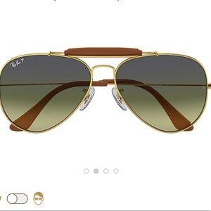 Ray Ban outdoorsman craft aviator sunglasses